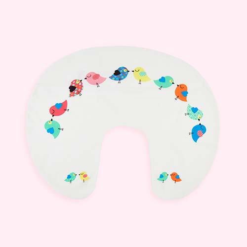 Birdie Widgey Donut Nursing Pillow Cover