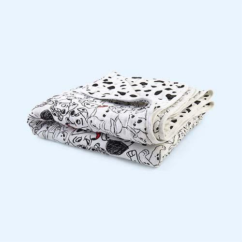 101 Dalmations aden + anais Disney Dream Blanket