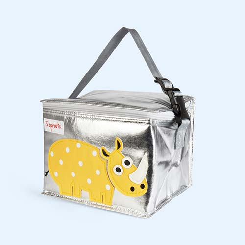 Yellow 3 Sprouts Rhino Lunchbox
