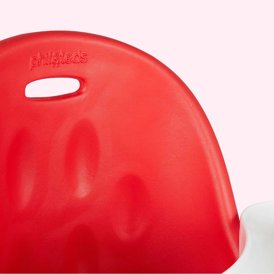 Cranberry phil&teds Poppy Highchair