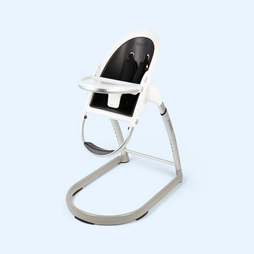 Black White phil&teds HighPod Highchair
