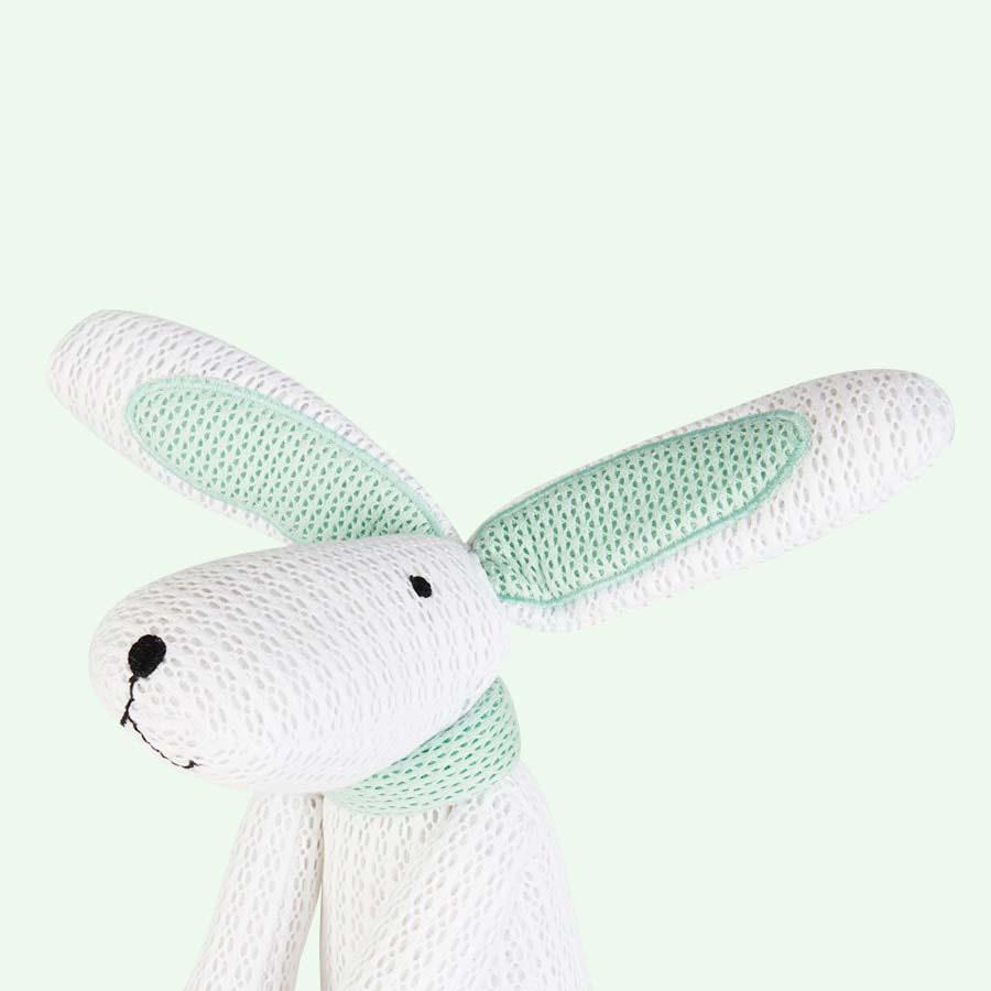 White babybundle SafeBreathe Hoppy Toy