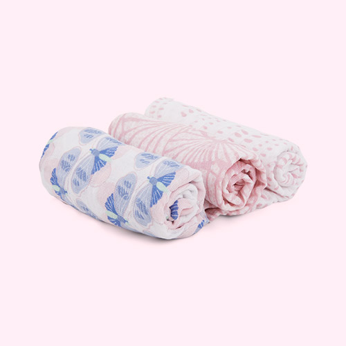 Deco aden + anais 3-Pack Classic Musy Squares Muslins