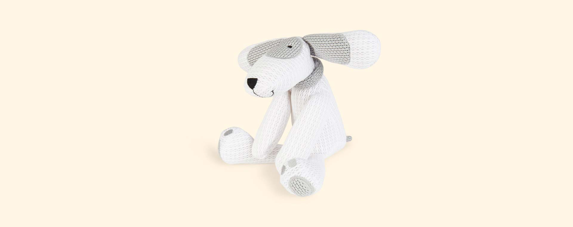 White babybundle SafeBreathe Patch Toy
