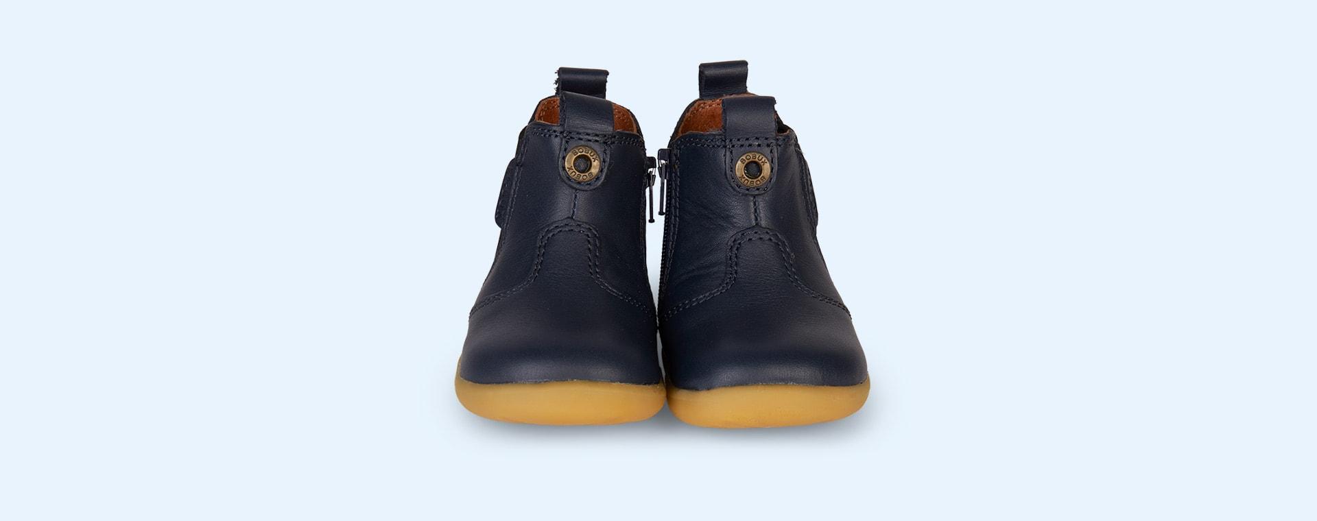 Navy Bobux Jodphur Step-Up Boot