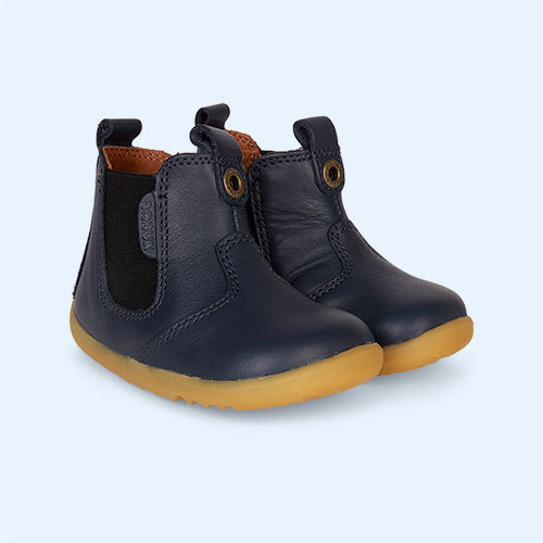 Navy Bobux Jodphur Step-Up Boot
