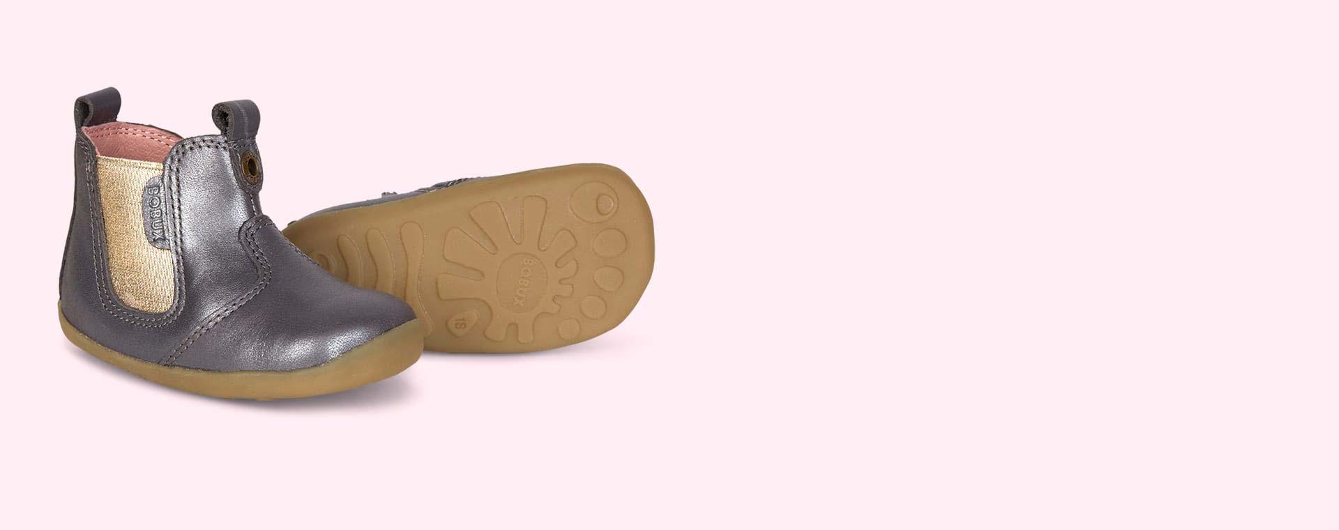 Charcoal Bobux Jodphur Step-Up Boot