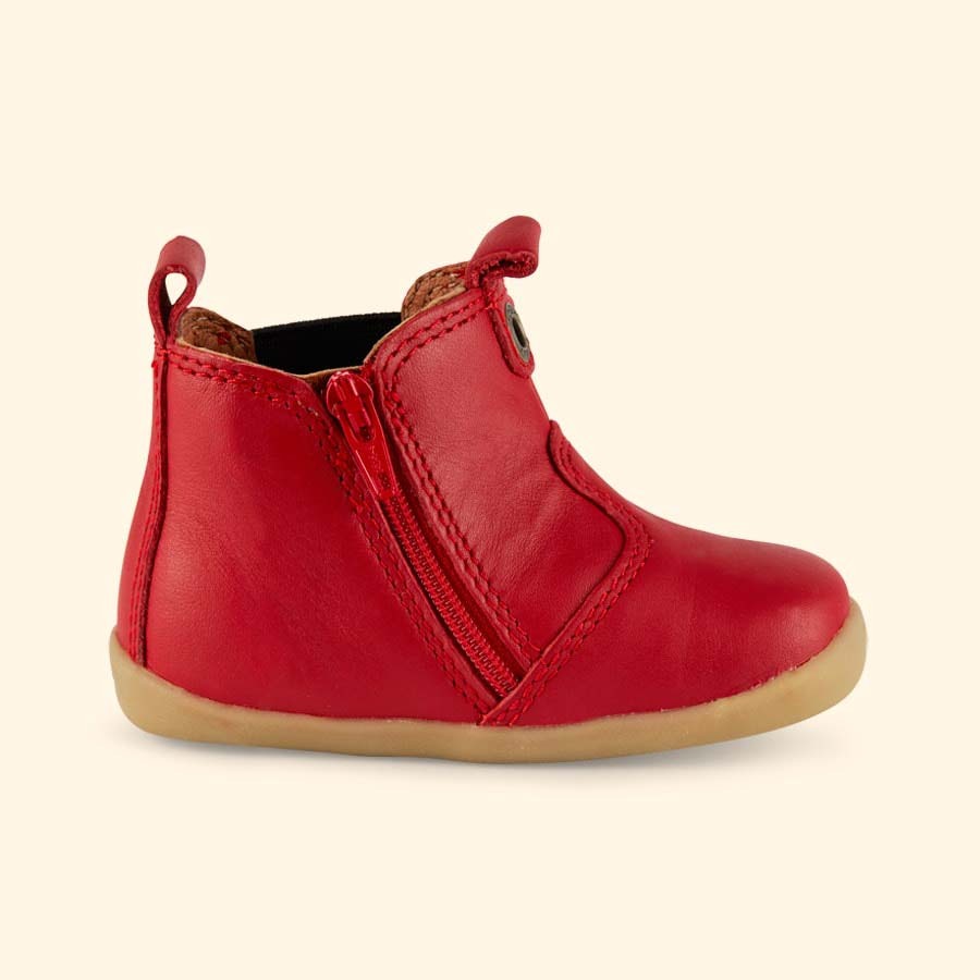 Red Bobux Jodhpur Boot
