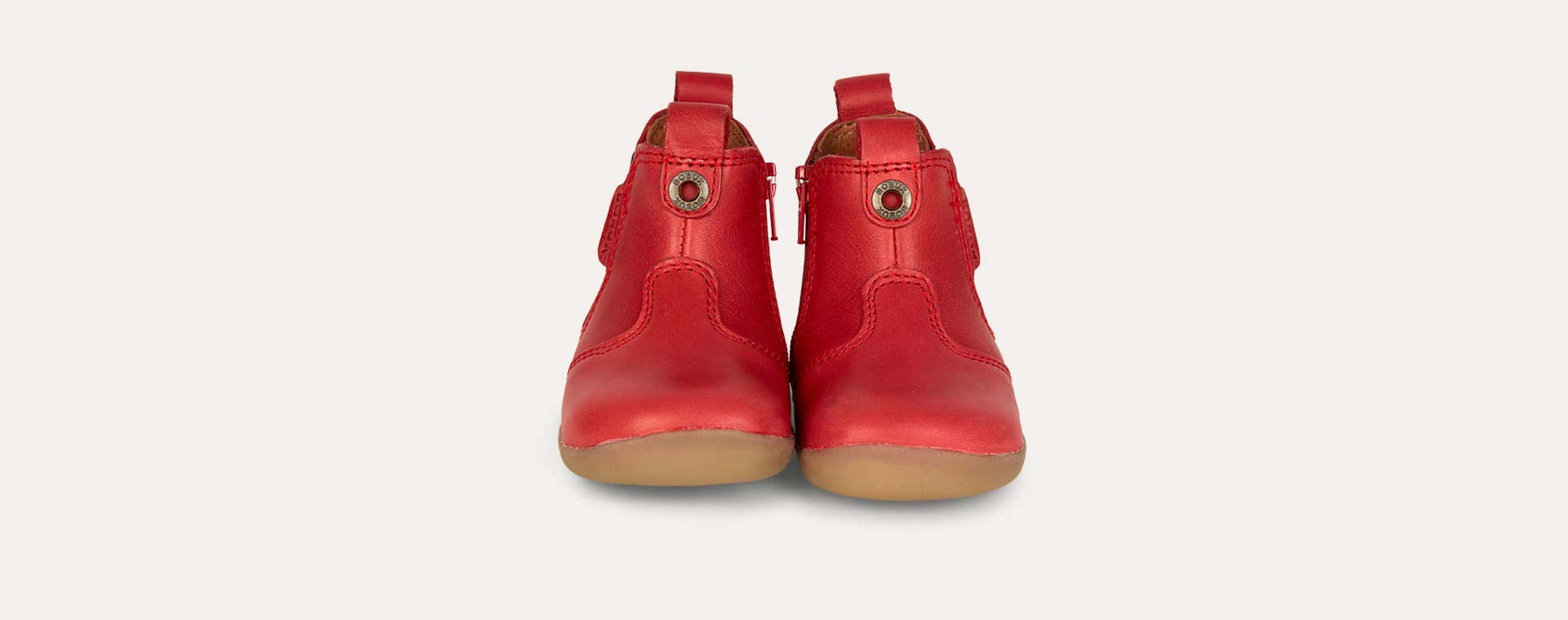 Red Bobux Jodphur Step-Up Boot