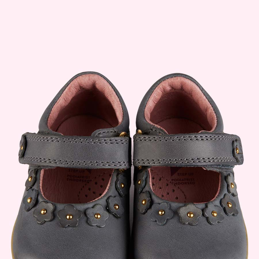 Smoke Bobux Dream Mary Jane Shoe