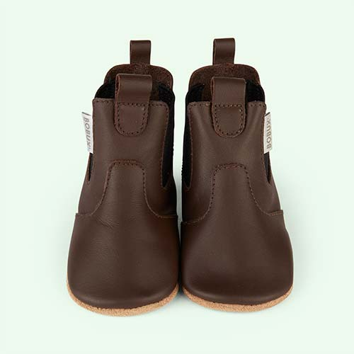 Chocolate Bobux Chelsea Boot