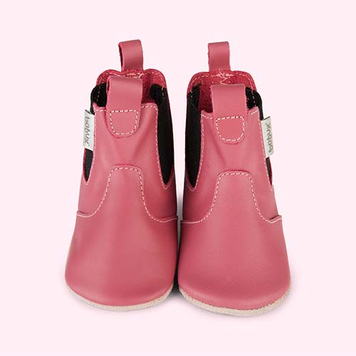Bright Pink Bobux Chelsea Boot