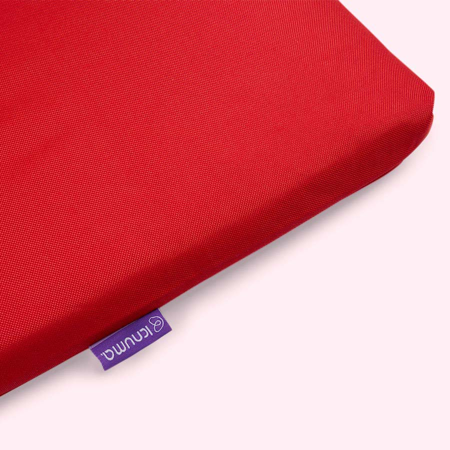 Red Knuma Huddle Crib Bench Mode Cushion Cover