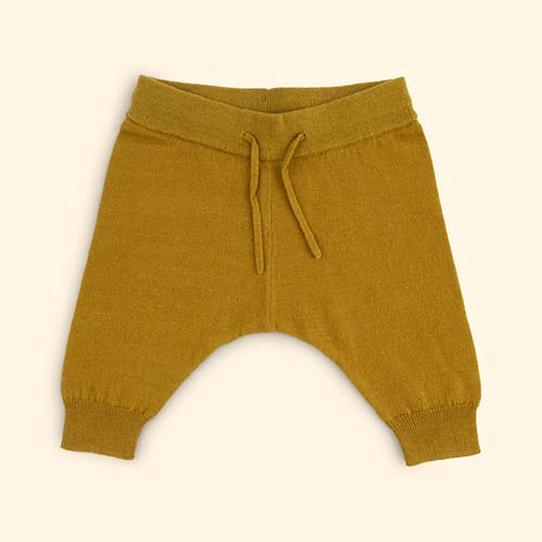 Ochre Kidscase Paris Knitted Pants