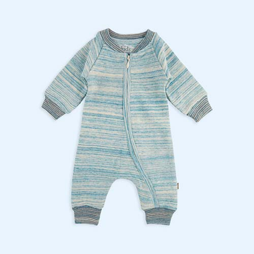 Light Blue Kidscase Life Organic Baby Suit