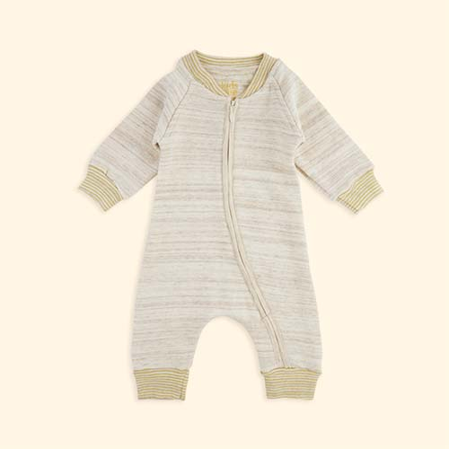 Off White Kidscase Life Organic Baby Suit