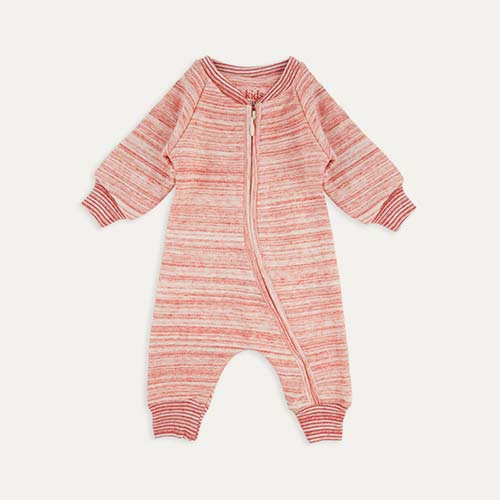 Light Pink Kidscase Life Organic Baby Suit