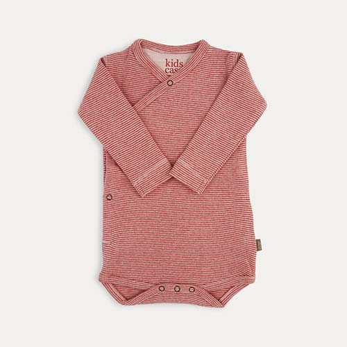 Light Pink Kidscase Hope Organic Bodysuit