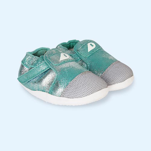 Aqua Sparkle Bobux Xplorer Arctic One Trainer
