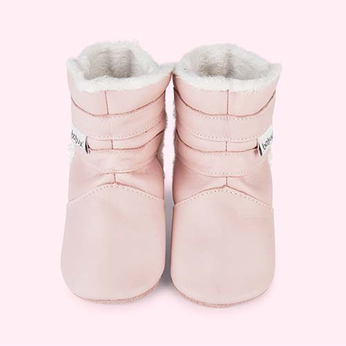 Pink Bobux Lined Boot