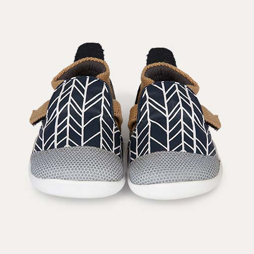 Navy Herringbone Bobux Xplorer Origin Trainer