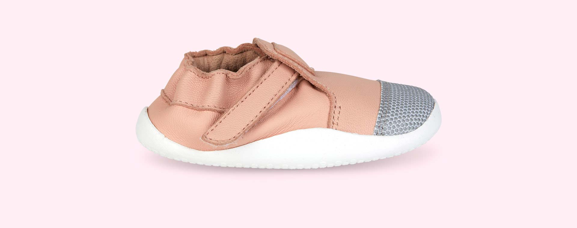 Blush with White Bobux Step Up Xplorer Origin Trainer