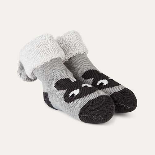 Grey The Bonnie Mob Winkle Bootie Bunny Socks