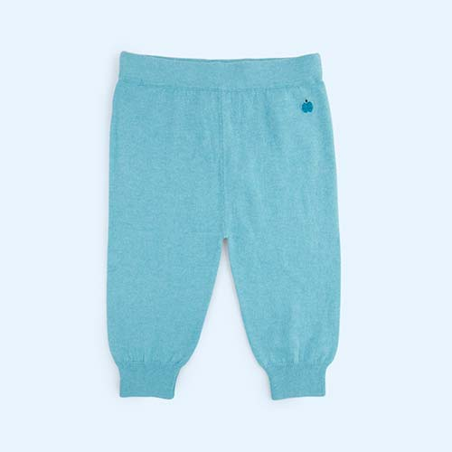 Pale Blue The Bonnie Mob Eskimo Knitted Jogger