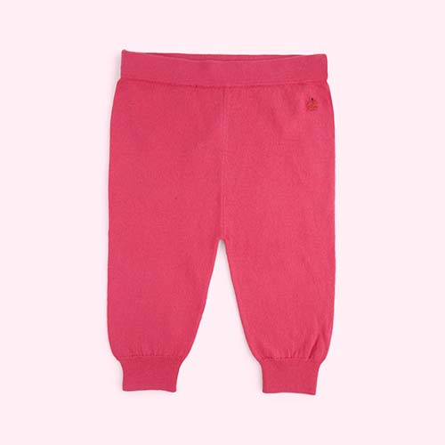Bright Pink The Bonnie Mob Eskimo Knitted Jogger