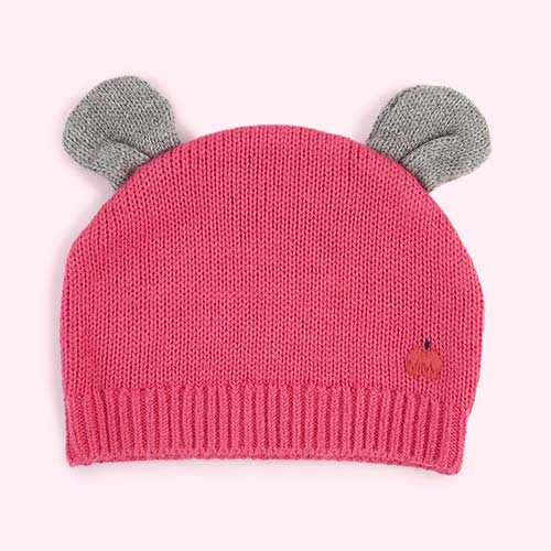 Pink The Bonnie Mob Elky Hat with Ears