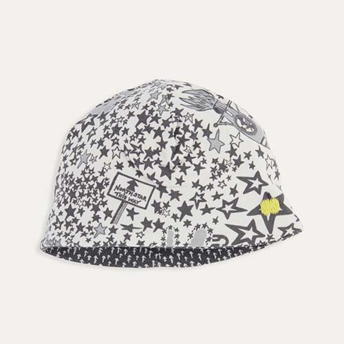 Grey Night Sky The Bonnie Mob BEANO Reversible Beanie Hat