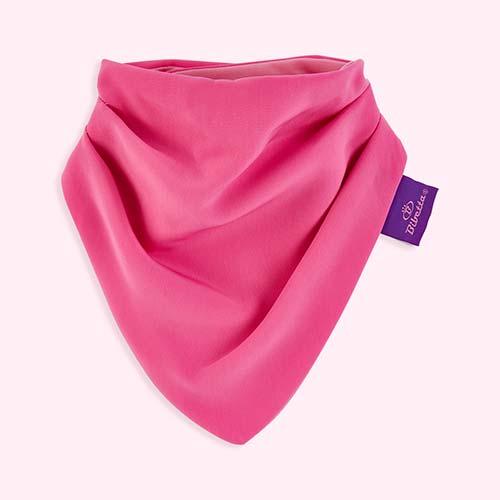 Pink Bibetta Super Soft Dribble Bib