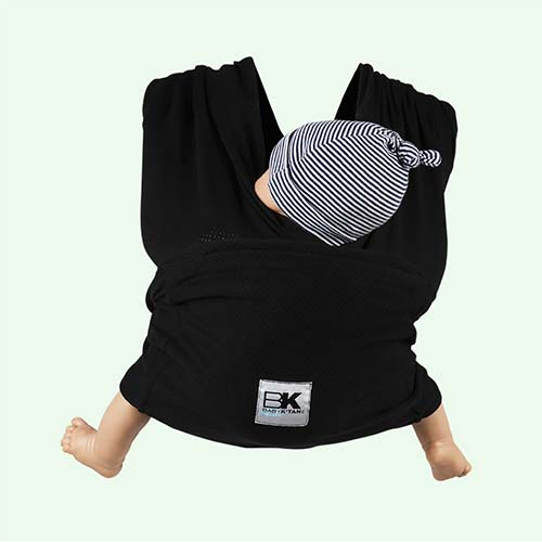 Black Baby K'tan Breeze Wrap Baby Carrier