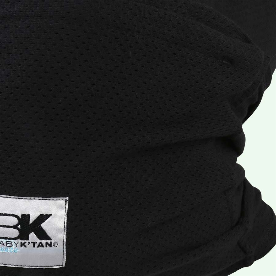 Black Baby K'tan Breeze Wrap Baby Carrier