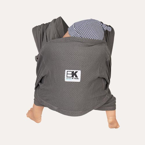 Charcoal Baby K'tan Breeze Wrap Baby Carrier