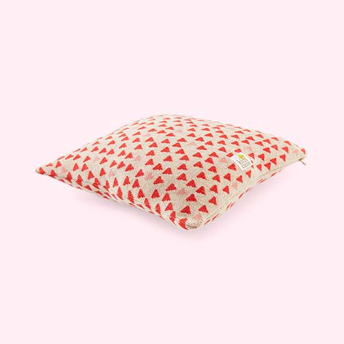 Soft Red Kidscase Walt Cushion
