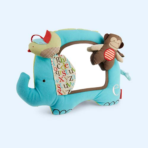 Multi Skip Hop Alphabet Zoo Activity Mirror
