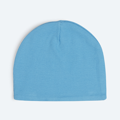 Norse Blue KIDLY's Own Ribbed Beanie