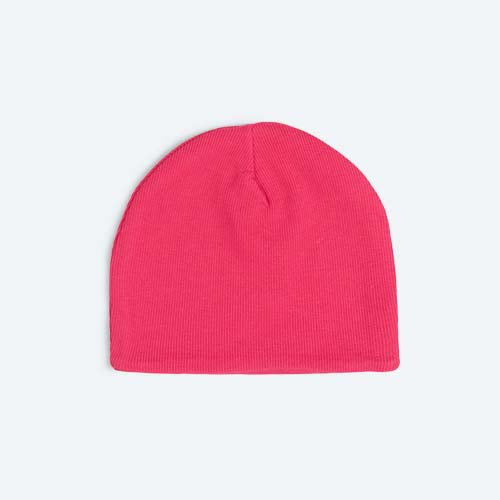 Hot Pink KIDLY's Own Ribbed Beanie
