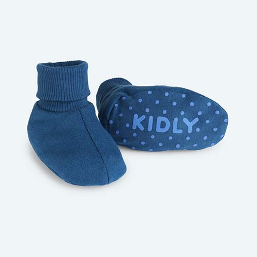 Federal Blue KIDLY's Own Booties