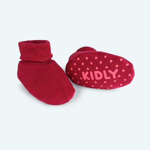 Bright Rose KIDLY's Own Booties