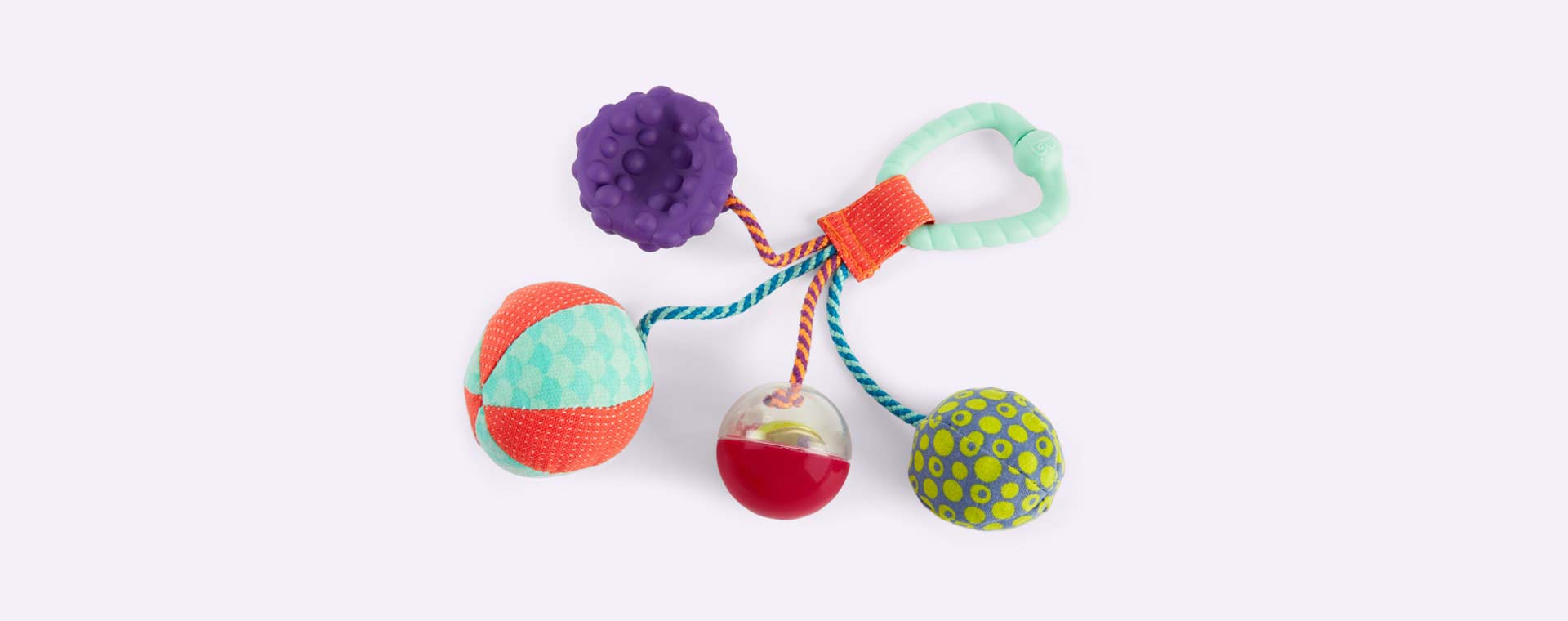 Multi B. Toys Sounds So Squeezy Balls
