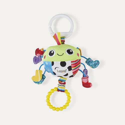Multi Lamaze Spider in Socks Clip & Go Toy