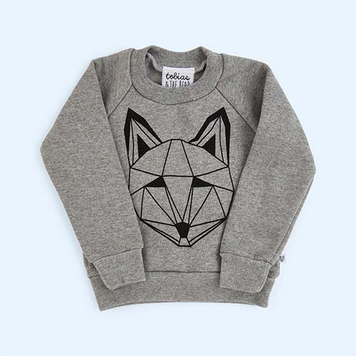 Grey tobias & the bear Just Call Me Fox Sweatshirt