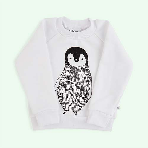 White tobias & the bear Percy The Penguin Sweatshirt
