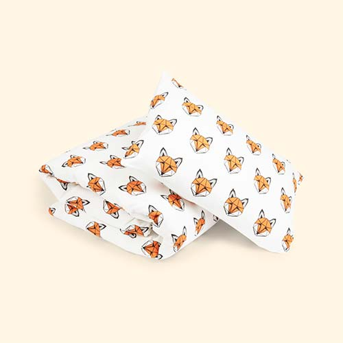 Just Call Me Fox tobias & the bear Duvet Set
