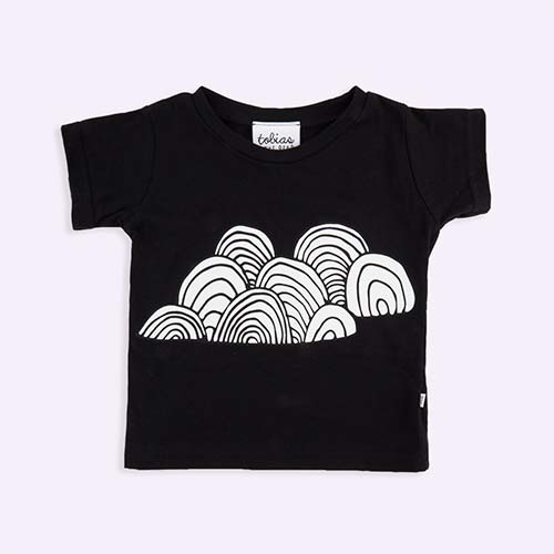 Black tobias & the bear Cloud Tee