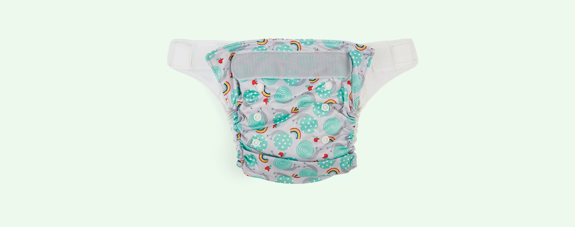 Snail Surprise Bambino Mio Miosolo All-In-One Nappy