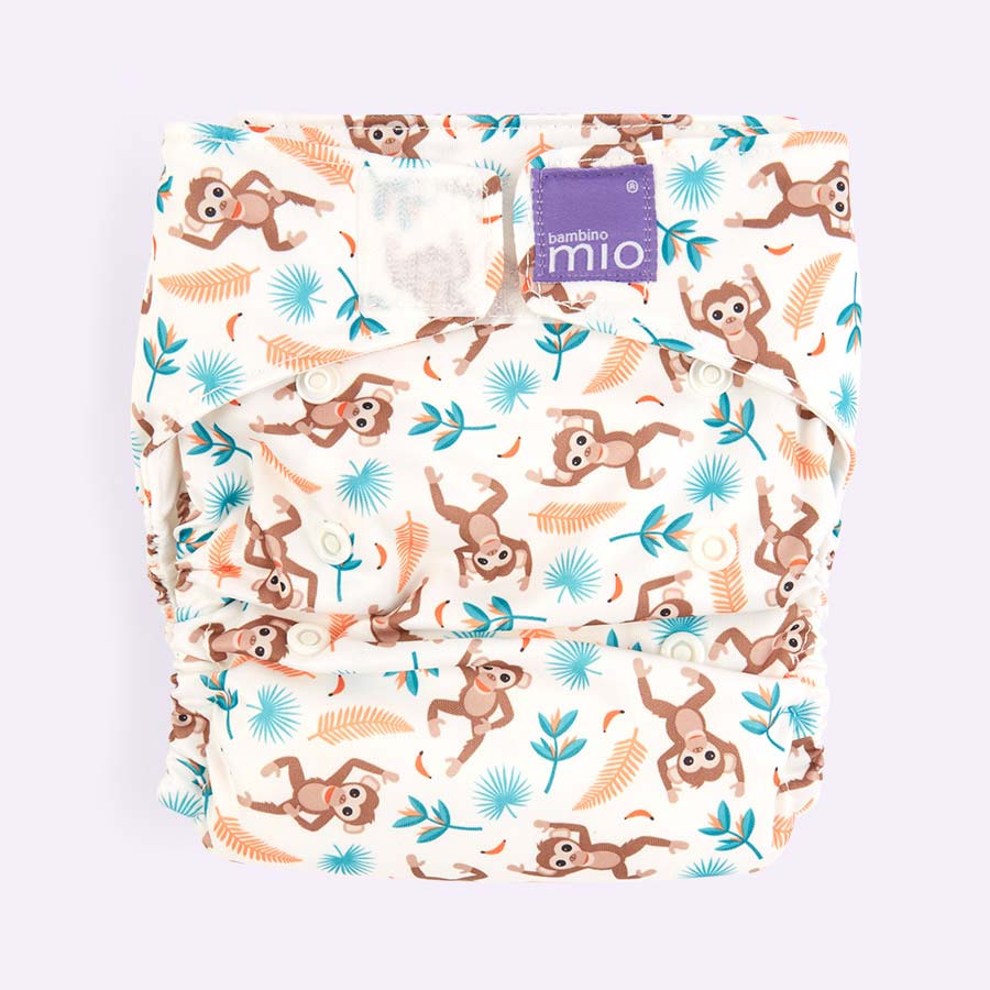 Spider Monkey Bambino Mio Miosolo All-In-One Nappy
