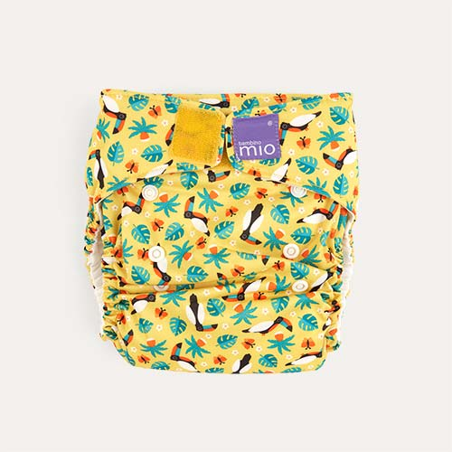 Tropical Toucan Bambino Mio Miosolo All-In-One Nappy